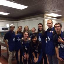 Cooking Up Hope volunteering event