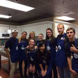 Cooking Up Hope volunteering event
